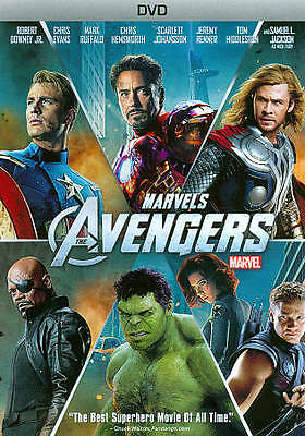 The Avengers DVD 1 First Movie Original - SHIPS IN 1 BUSINESS DAY WITH TRACKING