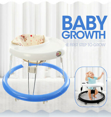 Baby Walker First Steps Walker With Sounds Lightweight Toy Foldable Walk New