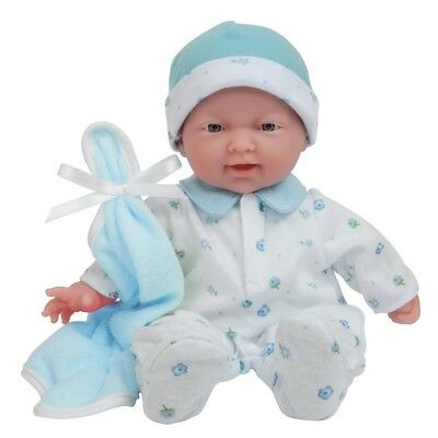 """Baby Doll Kids Toddler Toy 11"""" Boy Girl Washable Soft Body Pretend Play Gift New"""