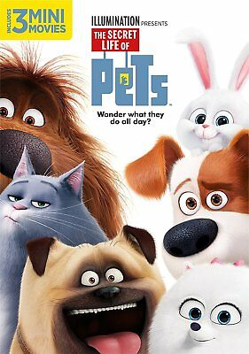The Secret Life of Pets (DVD) SHIPS IN 1 BUSINESS DAY WITH TRACKING