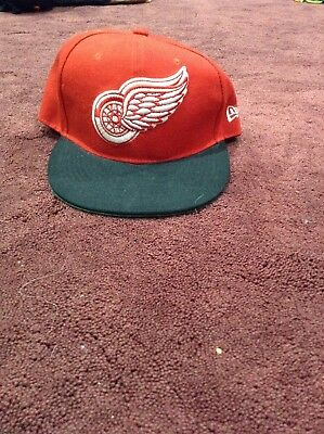 6f6248dc329 New Era 9fifty Detroit Red Wings Black A-FRAME Snapback Hat Cap Must have