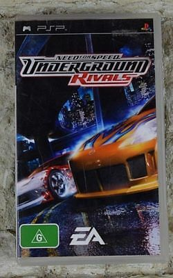 NEED FOR SPEED Underground Rivals PSP Game + Booklet PAL
