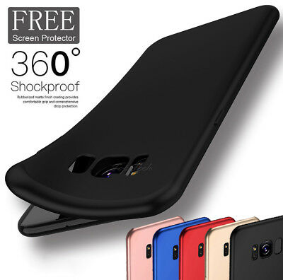 For Samsung Galaxy Note 9 8/S8/S9 Ultra Thin Slim Shockproof Silicone Case Cover