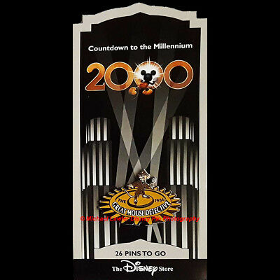 Disney Store Countdown To The Millennium Pin #27 The Great Mouse Detective Basil