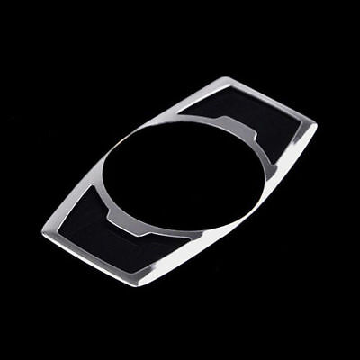 Fit For Ford Escape Kuga Fog Head Light Switch Button Chrome Cover Trim 2013 14