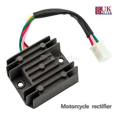4-Wire Full Wave Motorcycle Regulator Rectifier 12V DC Bike Quad Scooter FreeP&P