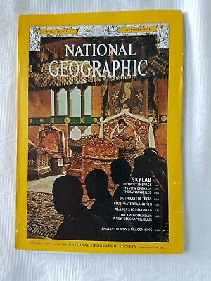 1974 National Geographic Magazine, American, Ads: Mercedes Benz, Cameras