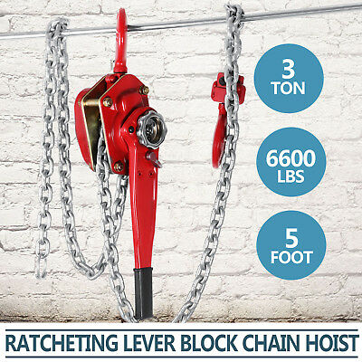 Chain Lever Hoist 3000Kg x 1.5Metre Lift Hoist Lever High Quality Use