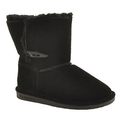 """YOUTH GIRLS BEARPAW ABIGAIL 8/"""" 682Y SUEDE WINTER BOOTS"""