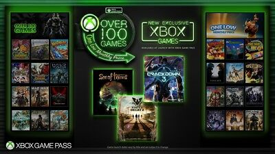 Xbox One Game Pass 1 Month Trial New Accounts Only (READ DESCRIPTION)