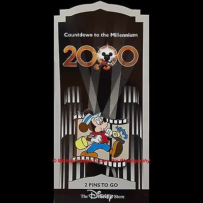 Disney Store Countdown To The Millennium #3 Simple Things Mickey Pin Filmstrip