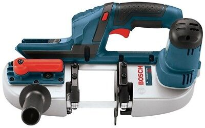 Bosch 18 Volt Lithium-Ion Cordless Electric Compact Portable Band Saw with 3