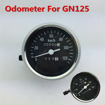 Motorcycle 99999.9km Odometer 120km/h Speedometer For Suzuki GN125