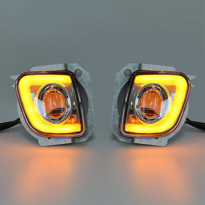 Rectangular LED Fog Light Kit For Honda GoldWing GL1800 F6B 2012-2017 2013 14 15