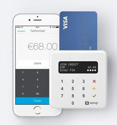 Brand New SumUp Chip & Pin / Contactless Reader AIR - Get Paid quicker on site