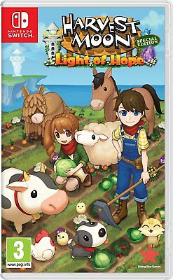 Harvest Moon Light of Hope Special Edition Switch   BRAND NEW & SEALED