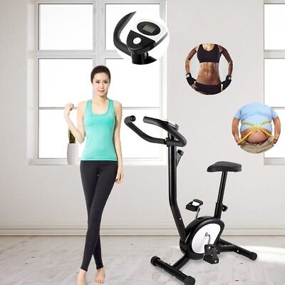 Vélo d'appartement LCD Elliptique Ergomètre Fitness Cardio Gym Max 120kg