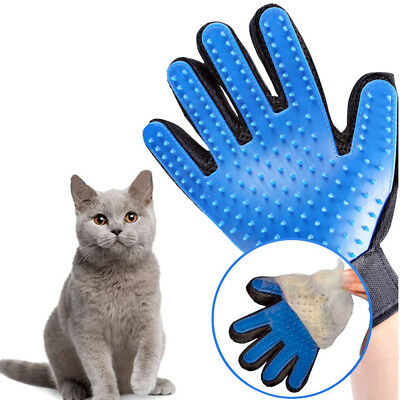 True Touch Pet Spazzola Leva Peli Animali Gatto Cat Pulizia Guanto Massagiante