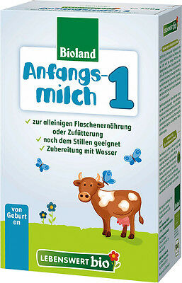 ( 25 Boxes) Holle Lebenswert Stage 1 Organic Infant Formula New Exp.Date 02-2020