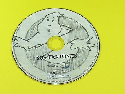 Ghost Busters French Version Dvd Disc Only No Case / No Artwork Sos Fantomes