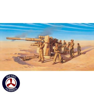 Italeri 1/72 Flak 37 AA 88mm Gun IT7512 Brand New