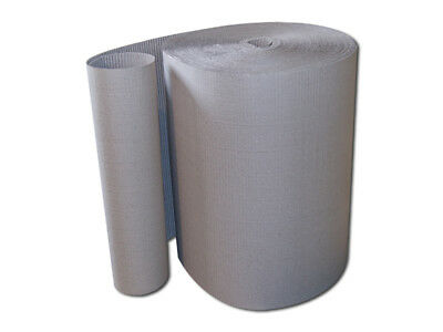 2 Rollen Wellpappe, 80 cm x 70 m Polstermaterial/Rollwellpappe