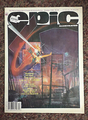Epic Illustrated magazine - Vol 1 number 26 - October 1984