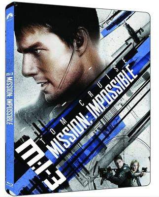 """""""Mission: Impossible 3 """"  Blu-ray STEEL BOOK (4K UHD+BD)"""