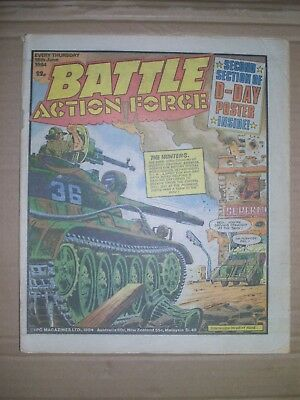 Battle Action Force issue dated June 16 1984