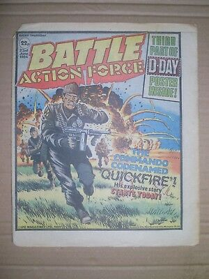 Battle Action Force issue dated June 23 1984
