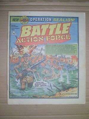 Battle Action Force issue dated August 11 1984