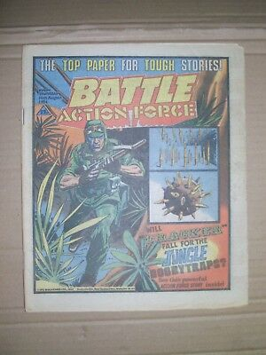 Battle Action Force issue dated August 18 1984