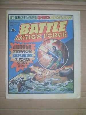 Battle Action Force issue dated August 25 1984