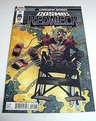 Redneck #12 Cosmic Ghost Rider Spoof April Fools Variant Donny Cates Image Comic