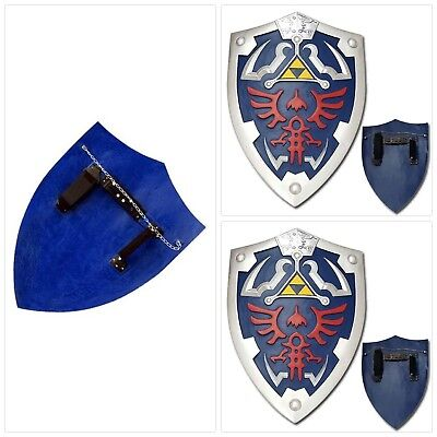 Full Size Link Hylian Zelda Shield with Grip amp Handle FREE SHIPPING