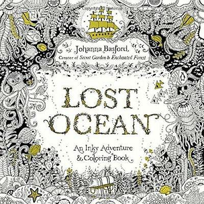 Lost Ocean: An Inky Adventure and Coloring Book for Adults by Johanna Basford...