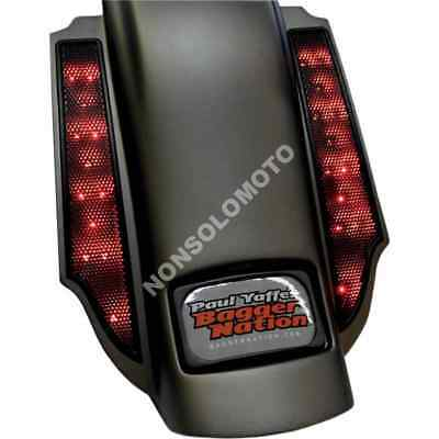 Luci Di Posizione Posteriori Bagger Nation Harley Davidson All Models Red