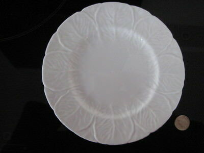 "Wedgwood Countryware Salad Dessert 8"" Plate White China Coalport Cabbage"