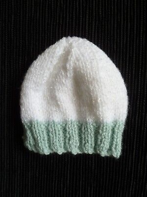 Baby clothes UNISEX BOY GIRL premature/tiny<4lbs/1.8kg professionally knit hat