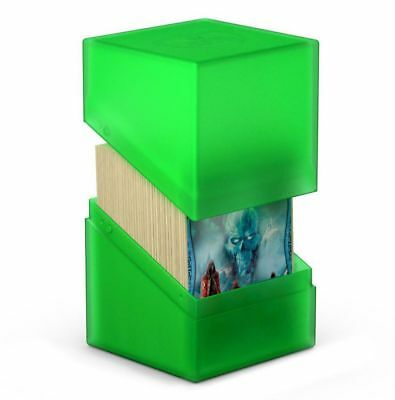 Ultimate Guard - Boulder Deck Case 100+ EMERALD - Gaming Card Box for Archive