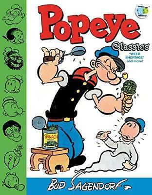 Popeye Classics Weed Shortage And More! by Bud Sagendorf (Hardback, 2015)