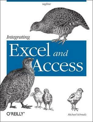 Integrating Excel and Access by Michael Schmalz (Paperback, 2005)