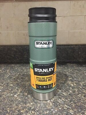 Stanley Coffee Thermos Vacuum Mug Bottle Classic Stainless Steel 16OZ *NEW*