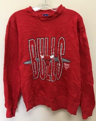 3e727288866 VINTAGE CHICAGO BULLS Eddy Curry  2 Red Champion NBA Jersey Size 44 ...