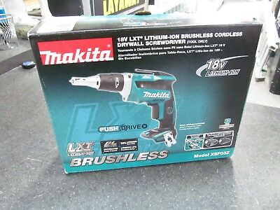 Makita XSF03Z 18V Lithium-Ion Brushless Cordless Drywall Screwdriver Bare Tool