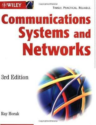 Communications Systems and Networks by Ray Horak (Paperback, 2002)