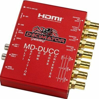 Decimator MD-DUCC Multi-Definiton Down Up Cross Converter