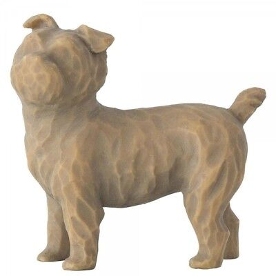 New & Boxed Willow Tree Figurine Love my Dog Standing Pet Animal Family Gift