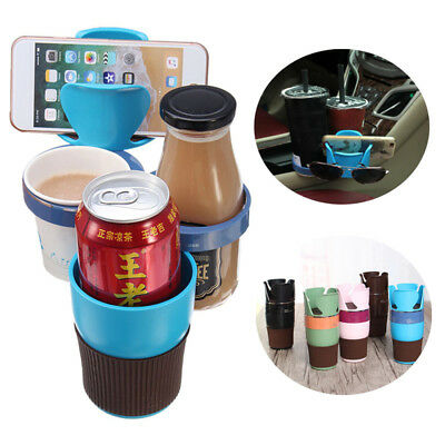 Universal Large Capacity Storage Cup Accessory Management Car Phone Holder Stand