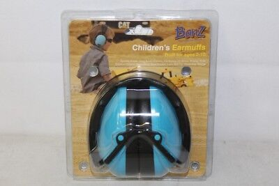 Banz Childrens Ages 2-10 Hearing Protection Earmuffs - Blue